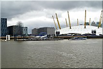 TQ3980 : The O2 Arena, Greenwich Peninsula by David Dixon