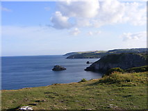 SX9456 : Berry Head Coast by Gordon Griffiths
