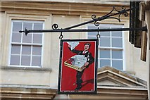 ST8557 : Sign at 44 Fore Street by Oast House Archive