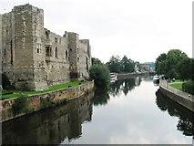 SK7954 : Newark Castle by Alex McGregor
