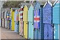 TR3968 : Beach huts by David Martin