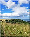 TA0685 : Cleveland Way Towards Scarborough by Scott Robinson
