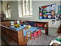 ST9917 : Inside St Mary, Sixpenny Handley (v) by Basher Eyre