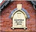 SJ8891 : Hampden Place 1862 by Gerald England