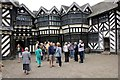 SJ8358 : The Courtyard at Little Moreton Hall by Jeff Buck