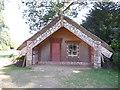 TQ0451 : Hinemihi, Maori Meeting House, Clandon Park by Paul Gillett