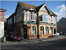 SP0366 : The Park Inn, mostly in Mount Pleasant, Southcrest, Redditch by Robin Stott