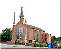 J4073 : St Molua's Church, Stormont, Belfast (2013-1) by Albert Bridge