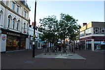 SZ0190 : Pedestrianised High St by N Chadwick