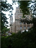 TQ2679 : Natural History Museum through the trees, Exhibition Road SW7 by Robin Sones