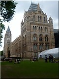 TQ2679 : Natural History Museum and green, Exhibition Road SW7 by Robin Sones