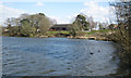 SP0466 : Lodge Pool, southern shore, Lodge Park, Redditch by Robin Stott
