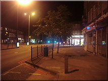 TQ2688 : Shops on Market Place, Hampstead Garden Suburb by David Howard