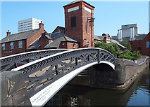 SP0586 : Tindall Bridge, Birmingham by David Hallam-Jones