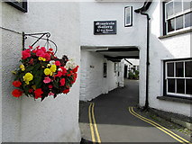 SD3598 : Vicarage Lane, Hawkshead by Chris Heaton