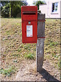 TM3193 : Smiths Knoll George VI Postbox by Adrian Cable
