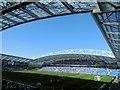 TQ3408 : East Stand, Amex Stadium by Paul Gillett