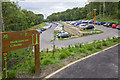 NZ1658 : Lower car park area, Gibside by David P Howard