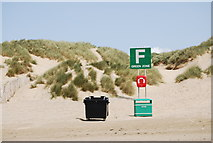 TQ9618 : Meeting point F, Camber Sands by N Chadwick