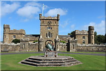 NS2310 : Cannon at the Clock Tower, Culzean Castle by Billy McCrorie