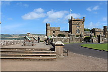 NS2310 : Cannon at Culzean Castle, Ayrshire by Billy McCrorie