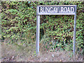 TM3394 : Bungay Road sign by Adrian Cable