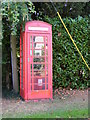 TM3394 : Telephone Box on Toad Lane by Adrian Cable