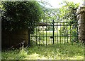 NO4796 : Garden gate to Belrorie, Glen Tanar by Stanley Howe