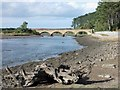 NU2410 : Duchess Bridge, Alnmouth by Neil Theasby