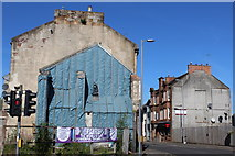 NS4263 : Corner of MacDowall Street & High Street, Johnstone by Leslie Barrie