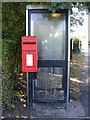 TM3591 : Telephone Box & Sun Road Postbox by Adrian Cable