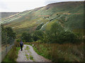SD6252 : The bridleway down to the Trough road by Karl and Ali