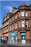 NS4263 : Corner of High Street & Rankine Street, Johnstone by Leslie Barrie