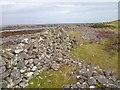 NG8897 : Ruined Wall, Loch a' Choire by Mick Garratt