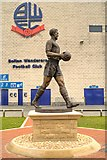SD6409 : Nat Lofthouse Statue, The Reebok Stadium by David Dixon