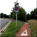 ST3095 : Footpath and cycleway to Pembroke Place and Hawarden Green, Cwmbran by Jaggery