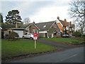 SP1872 : Detached houses, west side of Station Road, Kingswood by Robin Stott