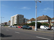 TQ2704 : Berriedale House Kingsway Hove by Dave Spicer