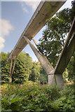 NZ2742 : The Kingsgate Footbridge over the Wear by David P Howard