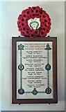 SO9700 : Second World War Roll of Honour, St Matthew's Church, Coates by Brian Robert Marshall
