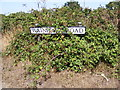 TM3589 : Wainford Road sign by Adrian Cable