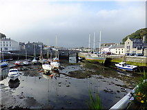 SC2667 : Harbour at Castletown by Richard Hoare