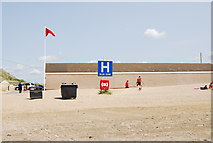 TQ9618 : Meeting point H, Camber Sands by N Chadwick