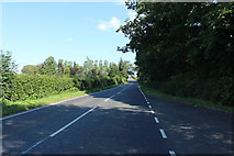 NS4626 : B743 to Mauchline near Failford by Billy McCrorie