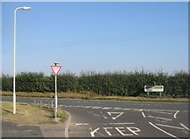 SU5751 : Pack Lane / Andover Road by Given Up