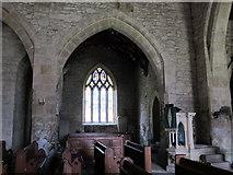 NY9393 : St. Cuthbert's Church, Elsdon - north transept by Mike Quinn