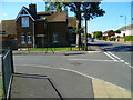 TQ0178 : Junction of Spitfire Close with Common Road by Shazz