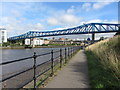 NZ2463 : Queen Elizabeth II bridge and River Tyne by Gareth James