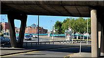 J3474 : Station Street/Bridge End flyover, Belfast (7 in 2013) by Albert Bridge