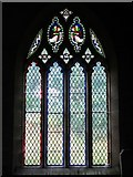 NY9393 : St. Cuthbert's Church, Elsdon - stained glass window (2) by Mike Quinn